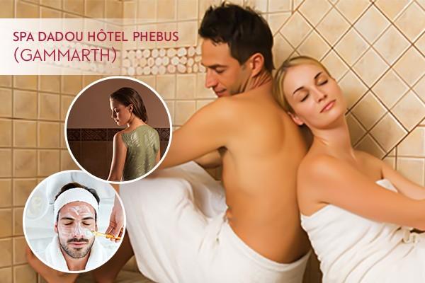 Hammam ( 30min) + Gommage + Enveloppement argile et savon noir + Massage relaxant corps complet + Piscine