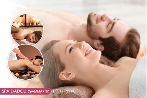 2 hammam + 2 gommages + 2 enveloppements argile et savon noir + 2 Massages relaxant corps complet (30min) + Piscine