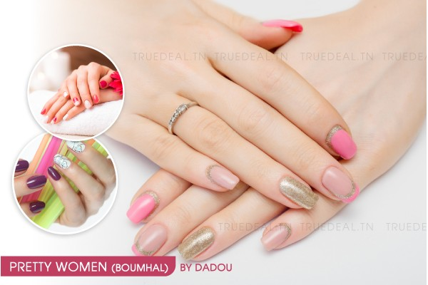 Faux ongles capsules + Gel + Pose vernis permanent