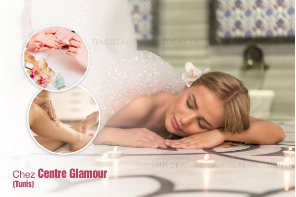 Hammam + Gommage + Epilation jambes complètes, bras complètes, aisselles, dos, ventre, maillot intégrale, visage, sourcils + Brushing + Soin des mains + Pose vernis