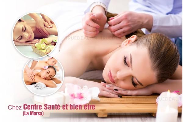Massage relaxant corps complet (50 min) aux huiles essentielles