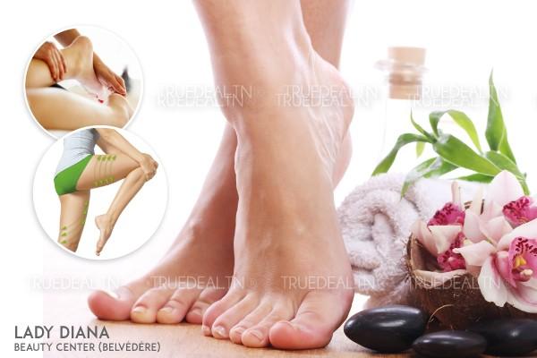 Soin des pieds médical+Massage Jambes lourdes (30min)