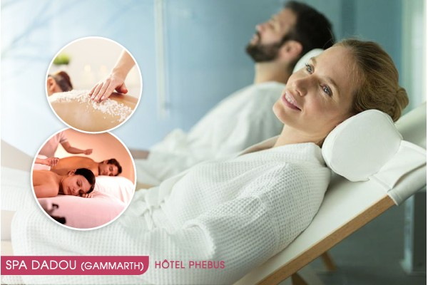 Hammam + Gommage + Enveloppement argile et savon noir + Massage relaxant corps complet (30 min) + Piscine+Jacuzzi