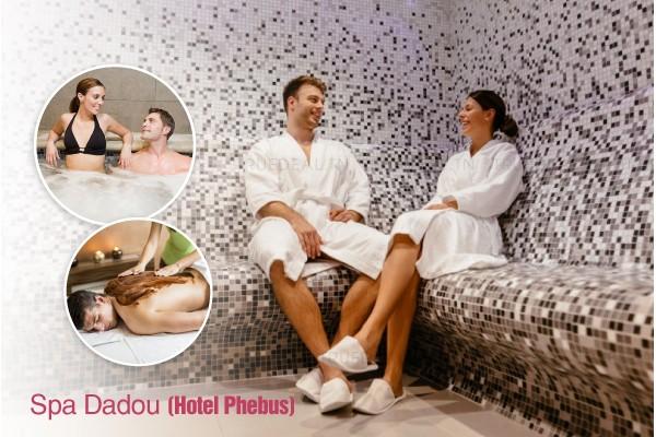 2 Hammam + 2 Gommages + 2 Enveloppements argile et savon noir + 2 Massages relaxant corps complet (30 min) + Piscine+ Jacuzzi