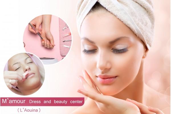 Soin de visage+Epilation Sourcils+Lèvre supérieure Brushing+Soin des mains+Pose vernis