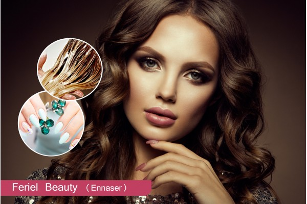 Coloration+Coupe+Brushing+Epilation visage+ Epilation Sourcils+ Soin capillaire + Pose vernis permanent