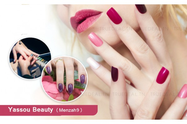 Gel+Capsules+Pose vernis permanent +Brushing