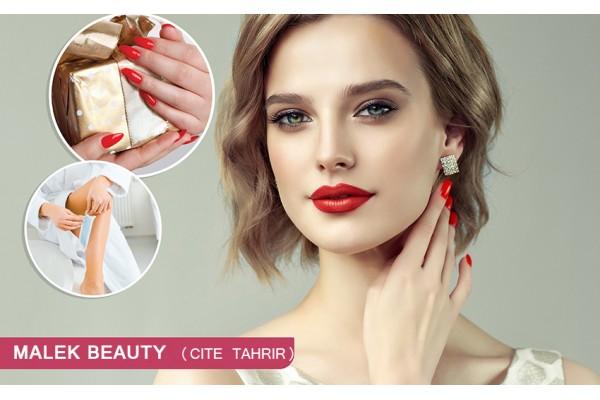 Coloration+Mèches+Coupe+Brushing+Epilation visage+Sourcils+Jambes+Bras+Aisselles+Pose vernis