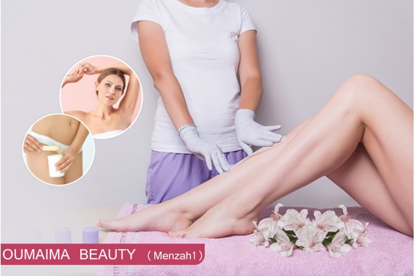 Epilation jambes complètes, bras complètes, aisselles, Dos, Ventre, maillot intégrale, visage, sourcils