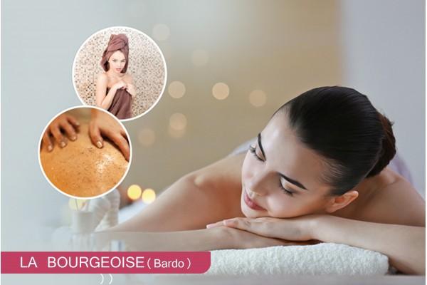 Hammam+gommage+Enveloppement+Massage relaxant cabine (30 min)+Brushing