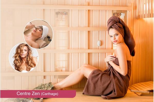 Hammam+Gommage+Enveloppement+Massage Relaxant Humide+Brushing