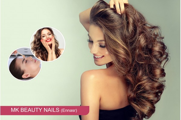 Coloration + Balayage ou Tie and die + Coupe + Brushing + Epilation visage, sourcils