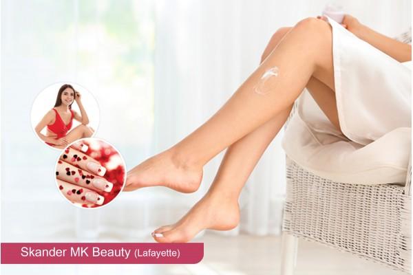 Epilation jambes + Bras + Aisselles + Visage +Sourcils+Soin des mains+Pose vernis permanent