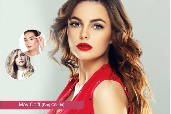 Coloration ou Méches + Coupe + Brushing + Epilation visage, sourcils