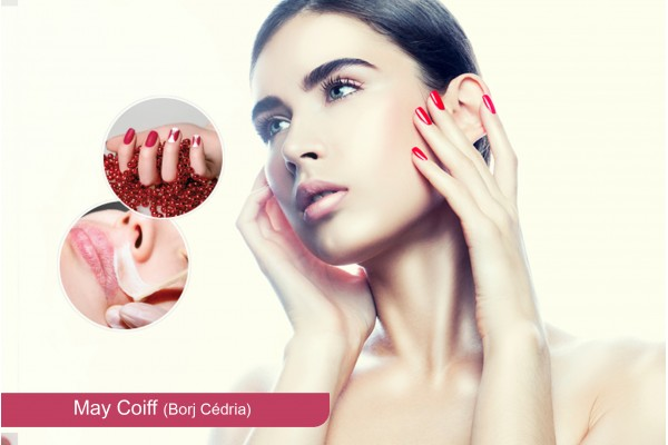 Brushing +Epilation sourcils+ Epilation lèvre sup+Pose vernis permanent