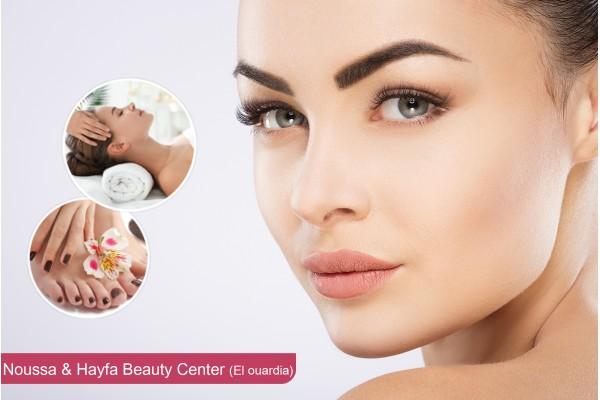Soin de visage spécifique (K-REINE)+Massage (30 min)+ 2 Poses vernis permanent+Brushing