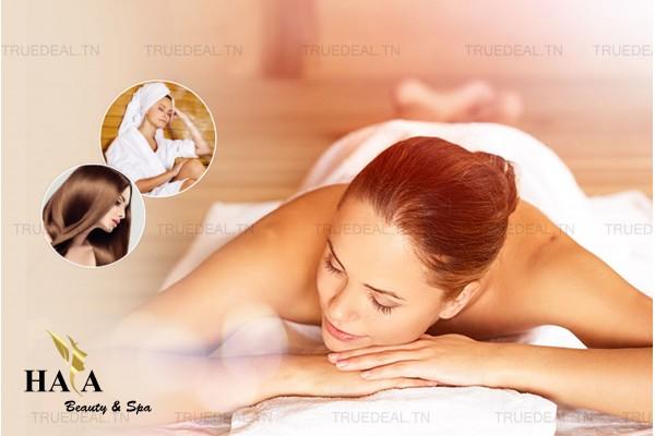 Hammam+Gommage+Enveloppement+Massage humide+Brushing