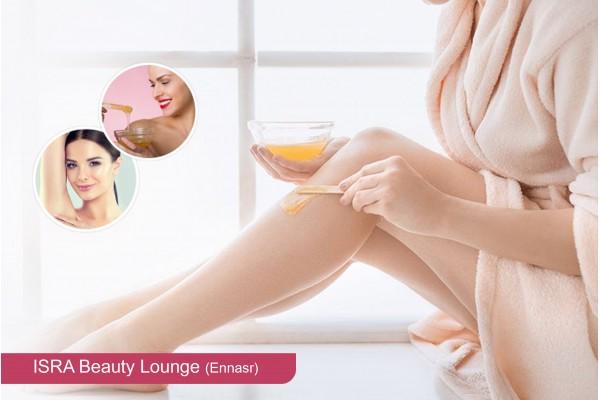 Epilation jambes complètes, bras complètes, aisselles, visage,sourcils+Brushing