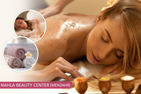 Hammam+Gommage+Enveloppement +Massage Relaxant humide+Brushing