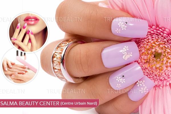 Faux Ongles Capsules + Gel +Soin Des Mains+ Pose Vernis Permanent