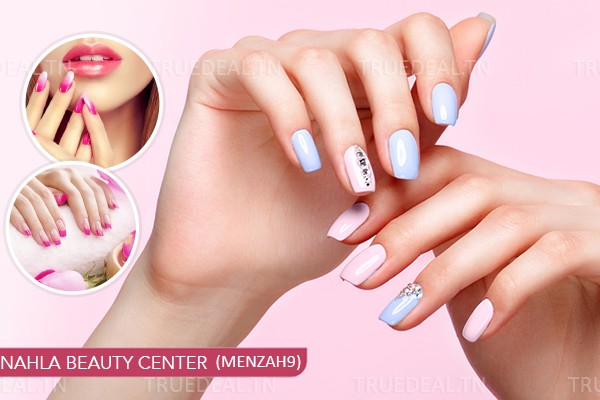 Faux Ongles Capsules + Gel + Pose Vernis Permanent +Design