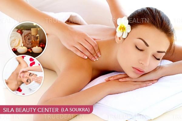 Massage Relaxant (30 min) + Tisane