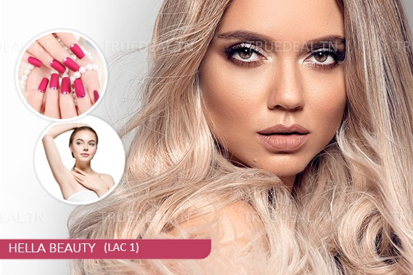 Coloration+Mèches+Coupe+Brushing+Epilation Visage+Epilation Sourcils+Epilation Bras+Epilation Aisselles+Pose vernis permanent