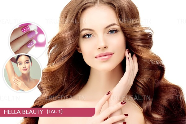 Coloration (Bio)+Coupe+Brushing+Epilation Visage+Epilation Sourcils+Epilation Bras+Epilation Aisselles+Pose vernis permanent