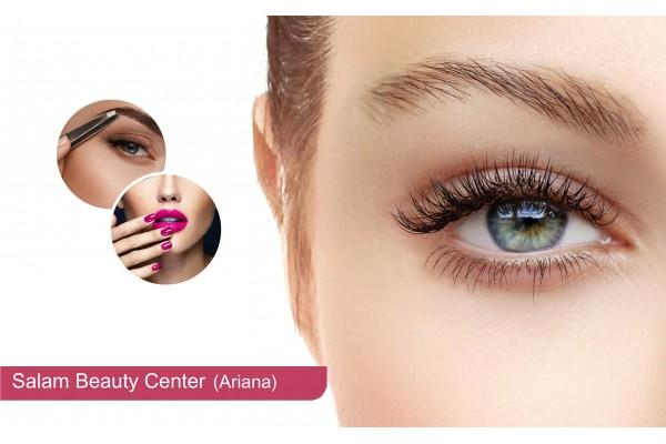 Cil à cil+Epilation visage+Epilation sourcils+Soin des mains+Pose vernis permanent