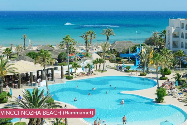 VINCCI NOZHA BEACH Hammamet ****