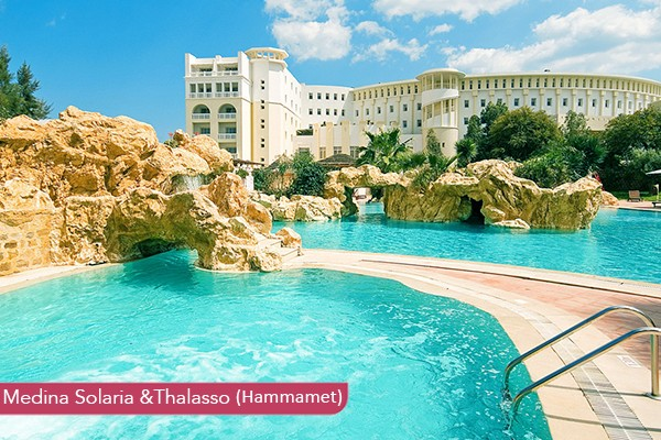 Hotel Medina Solaria &Thalasso Hammamet *****