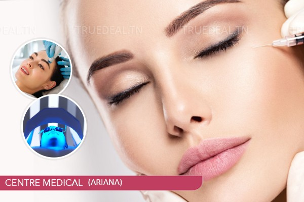Une Séance : HYDRAFACIAL + RADIOFREQUENCE+ PHOTOLED+MESOTHERAPIE